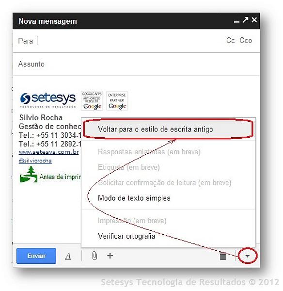 Gmail um novo conceito