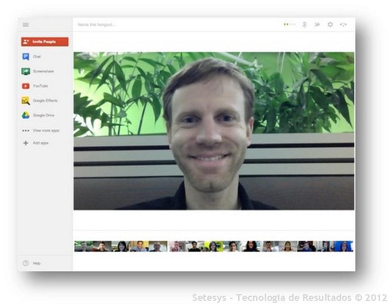 Hangouts agora permite até 15 pessoas para conversação simultânea