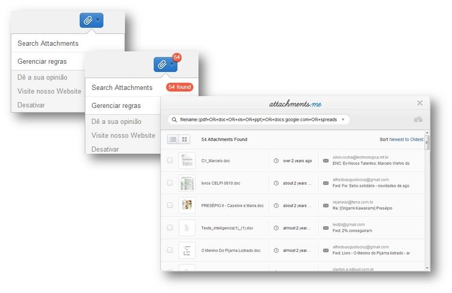 Attachments.me uma nova forma de gerenMciar anexos no Gmail