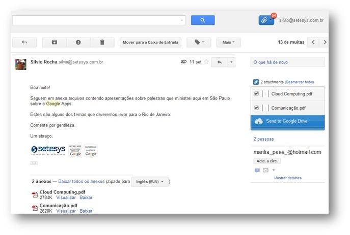 Attachments.me uma nova forma de gerenciar anexos no Gmail