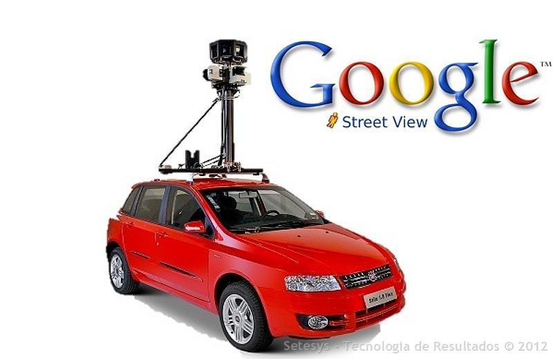 Visão dos Bastidores do Google Street View