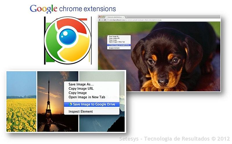 Extensão que facilita a cópia de imagens e páginas Web no Google Drive