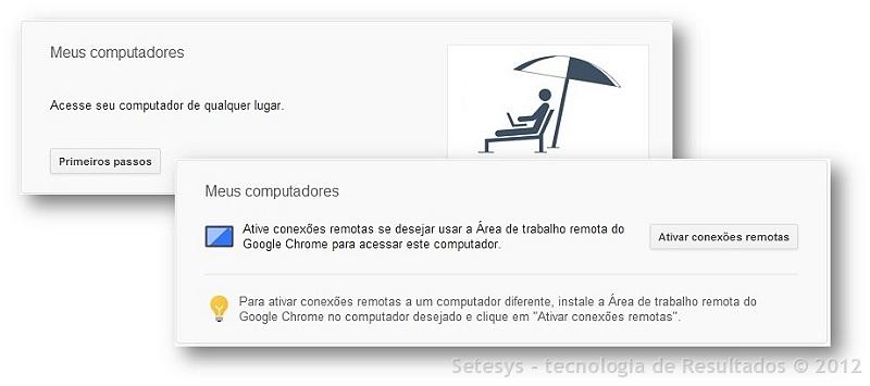 Atualização do Post sobre Remote Desktop - Área de trabalho remota do Google Chrome