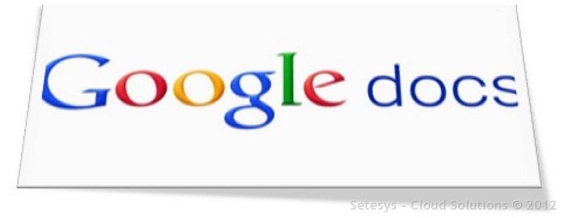 Conceituação sobre serviços executados pelo Google Drive e Google Docs. Backup e espaço de armazenamento.