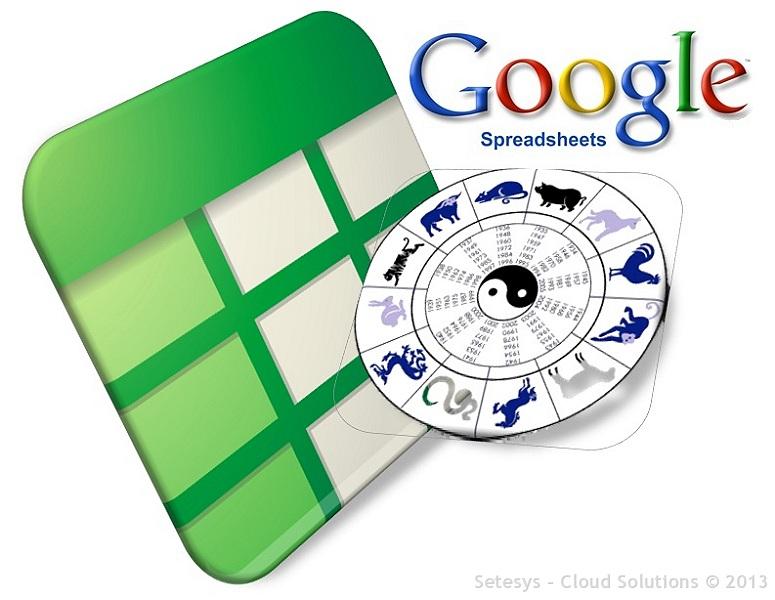 Como descobrir o seu signo no Horóscopo Chinês utilizando uma planilha desenvolvida no Google Spreadsheet