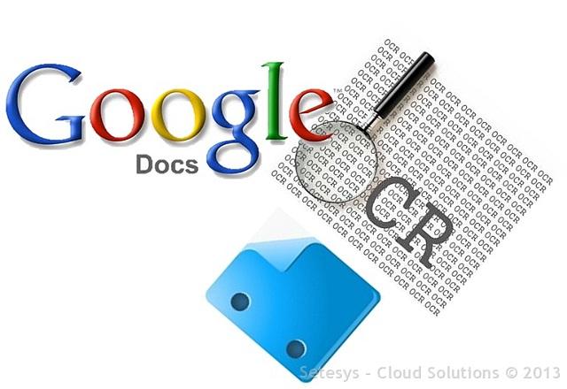 OCR - Reconhecimento Ótico de Caracteres é um recurso disponível no Google Drive.