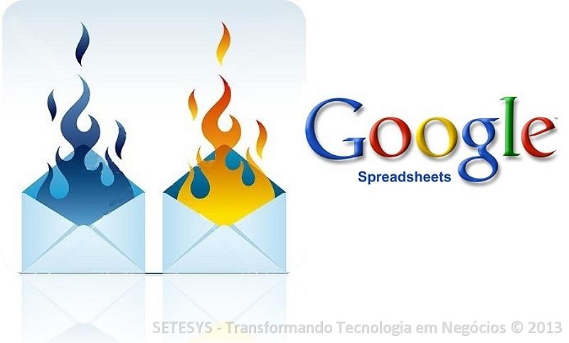 Tutorial sobre como criar mensagens auto destruticas no Google Spreadsheet