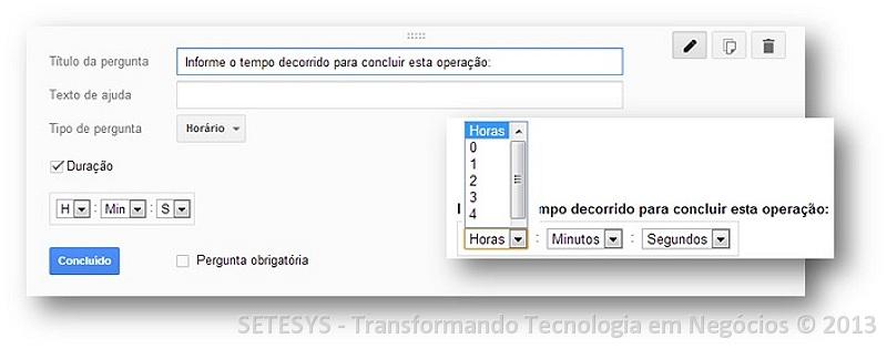 Tutorial de inserção no Google Forms de Imagens Data e Hora
