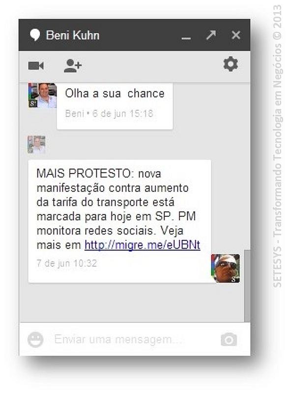 Tutorial sobre conversação no Gmail
