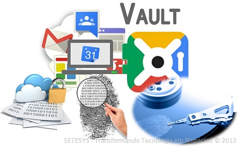 Tutorial sobre auditoria no Google Vault