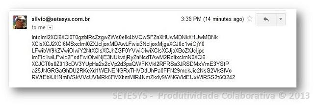 Tutorial ensinando como aplicar Algoritmo de Criptografia AES em mensagens do Gmail